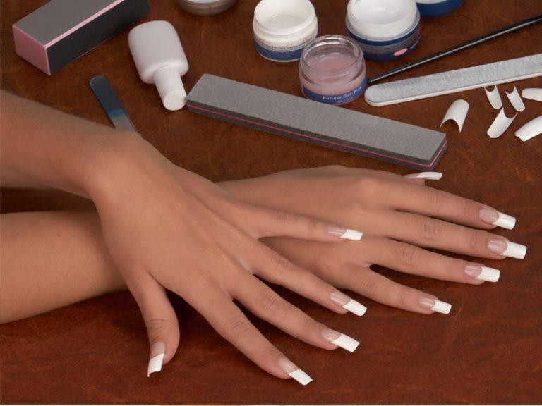 Фото самостоятельного наращивания ногтей