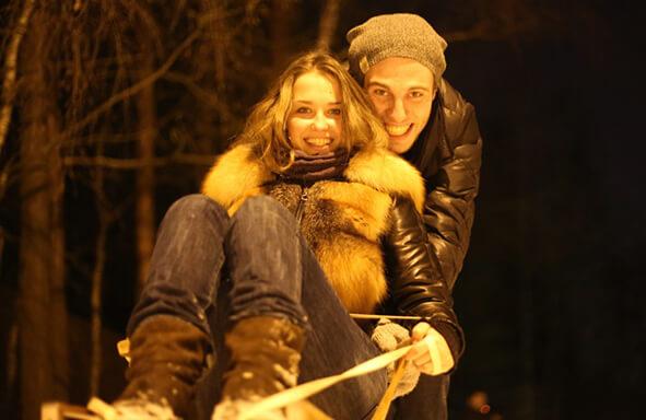 Фото Аглая с Федором Воронцовым