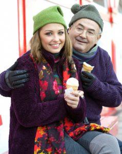 фото Аглая с дедом Всеволодом Шиловским