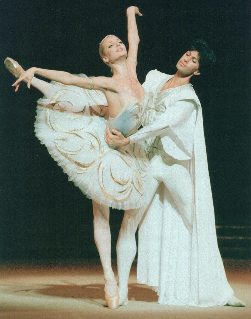 фото Волочкова - балерина