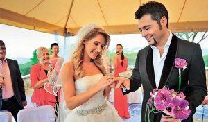 фото свадьба Юлии Ковальчук и Алексея Чумакова