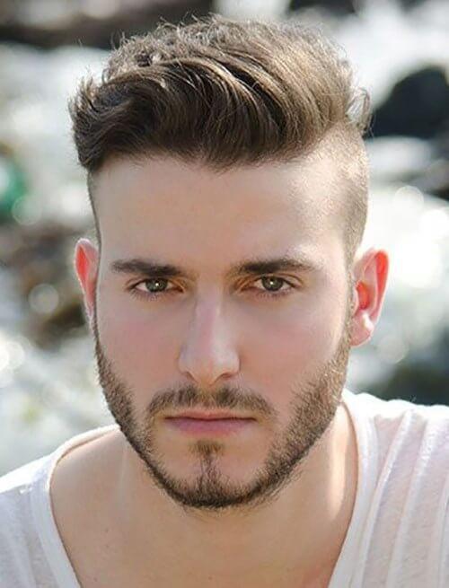 стрижка андеркат мужская фото для парикмахера