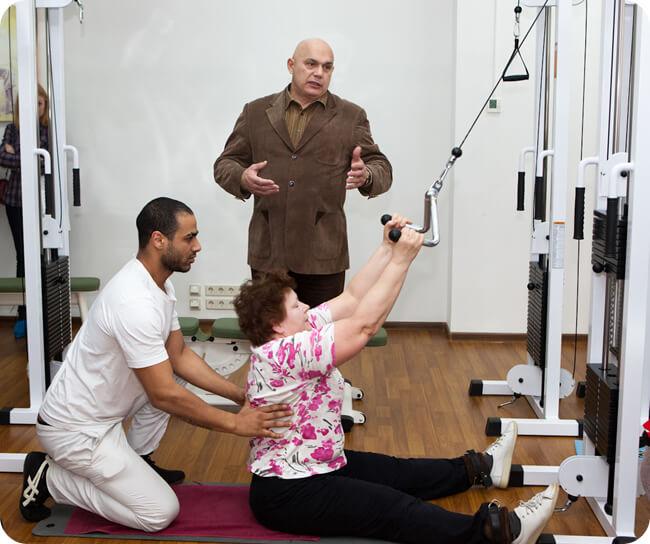фото лечение остеохондроза по Бубновскому
