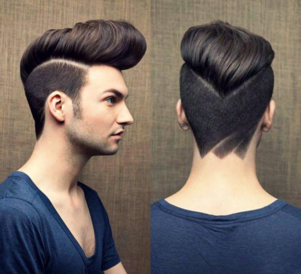 модельная стрижка мужская фото