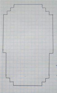 Фото схема вязания подошвы