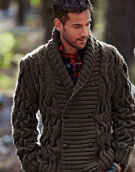 Фото вязаные кардиганы для мужчин мода 2017 года