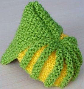 Фото вязание простых пинеток-тапочек
