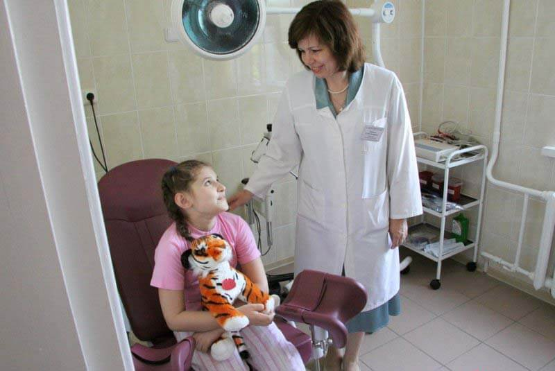 Фото осмотр гинеколога в 14 лет