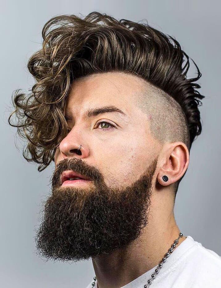 модельная стрижка мужская фото вид сзади