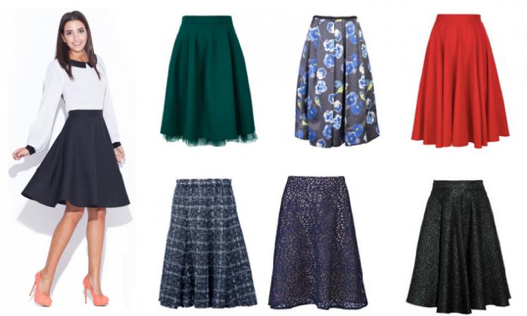 Фото варианты ткани для юбки полусонлнце