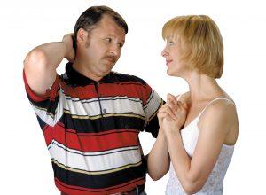 Фото жена просит прощения у мужа