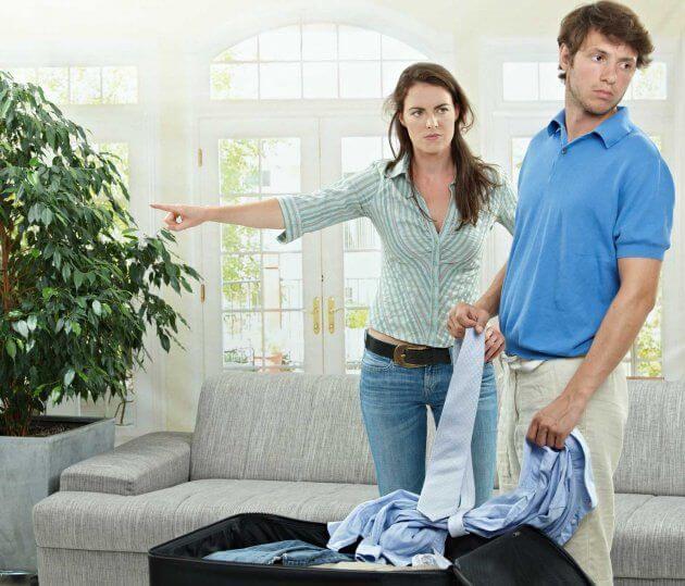 Фото вина жены в уходе мужа
