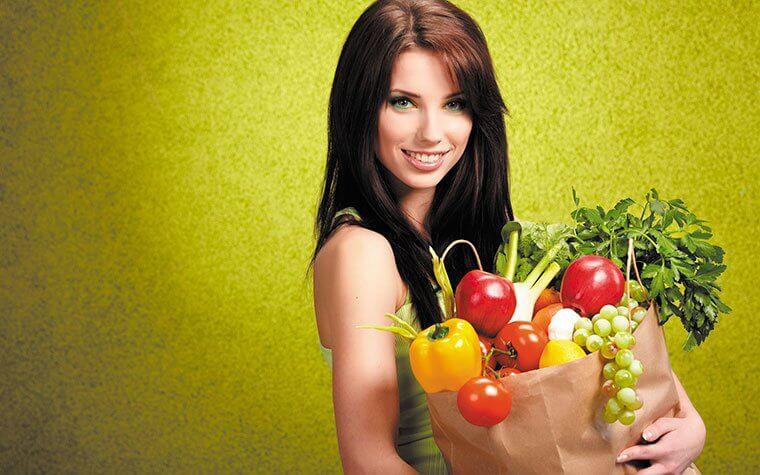 Фото рекомендуемые продукты для женщина для зачатия