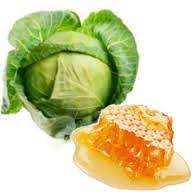Фото смесь капусты и меда против храпа