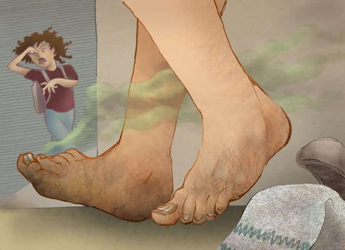 Фото несоблюдение гигиены как причина развития запаха ног