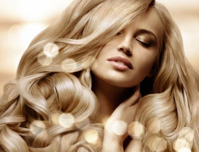 сияние волос