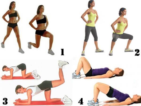 Фото упражнения против галифе