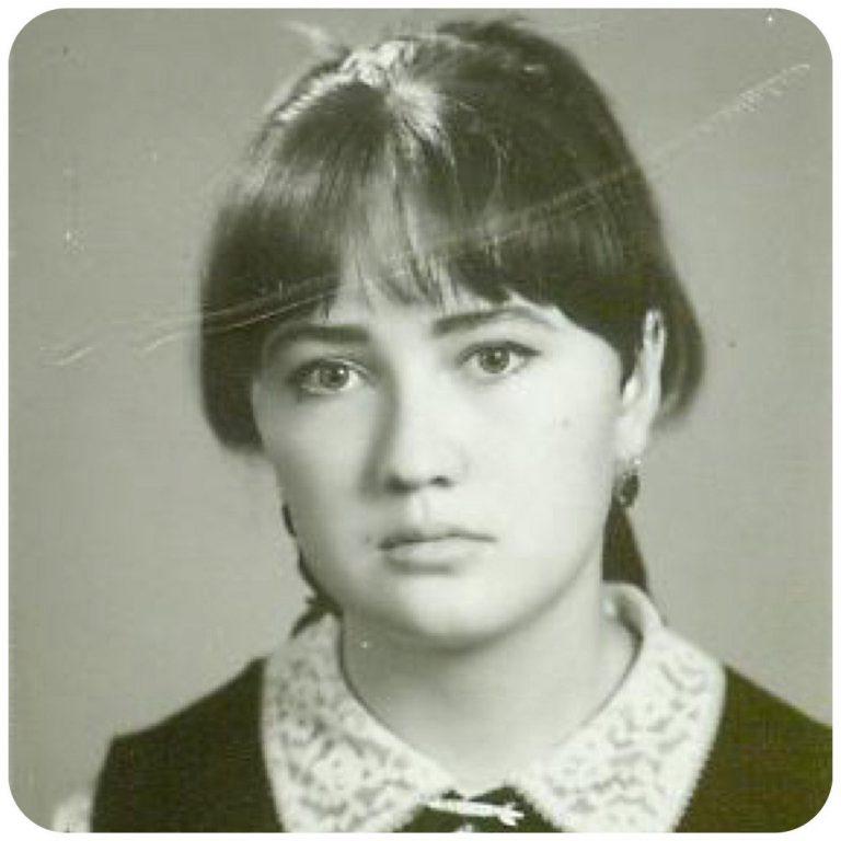 фото юная Гузеева