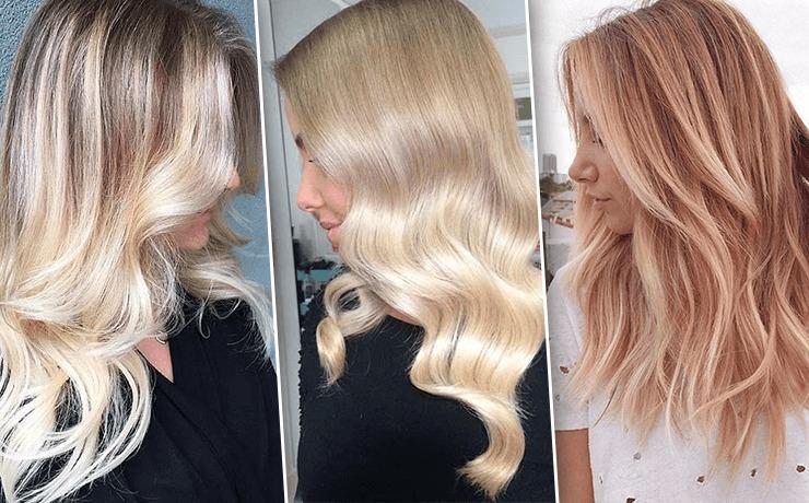 балаяж светло русые волосы фото