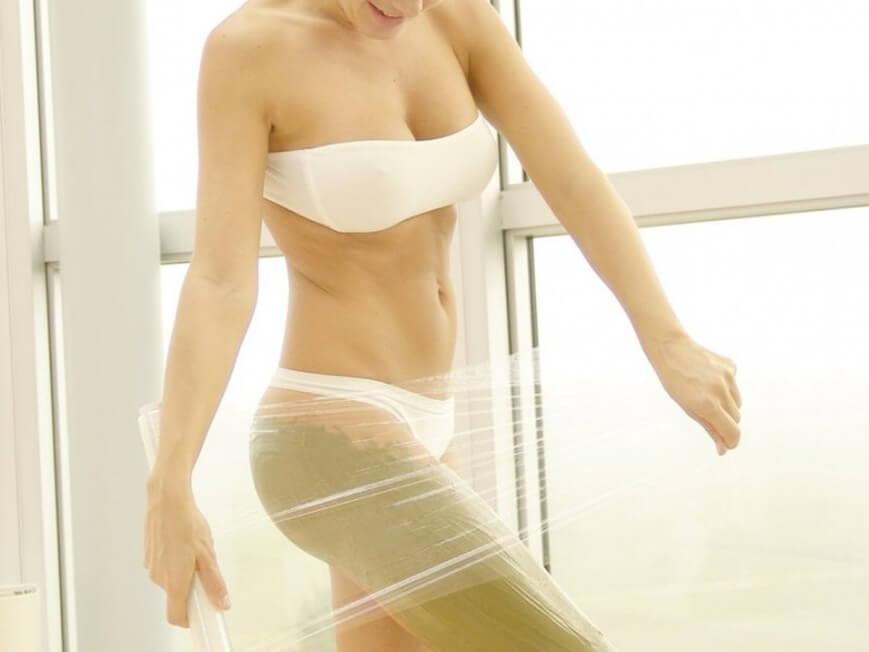 убрать жир помощью массажа