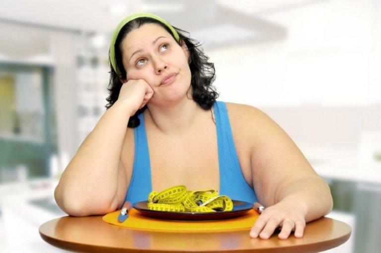 женщина с ожирением хочет похудеть