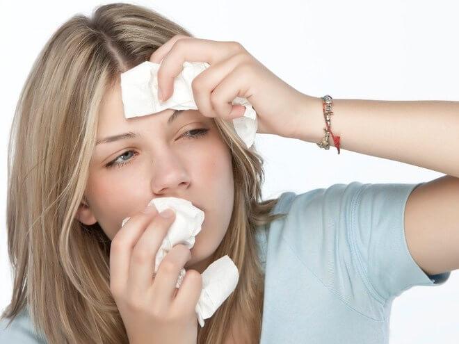 температура и насморк