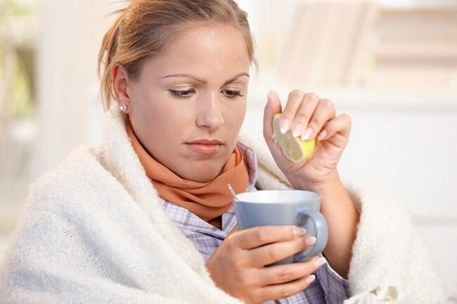 прием жидкости во время простуды
