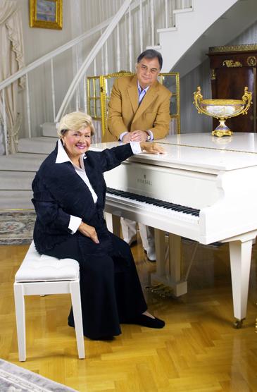 Долорес Кондрашова с мужем