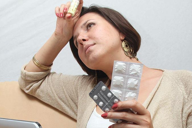 тяжелый выбор таблеток