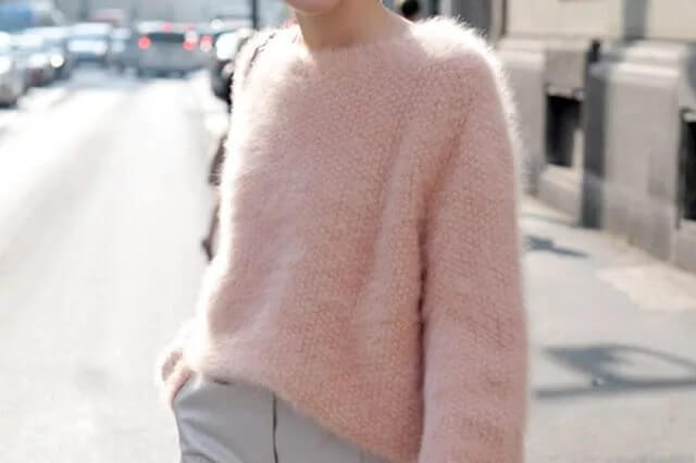 Фото мохеровый свитер для женщин вязание для начинающих