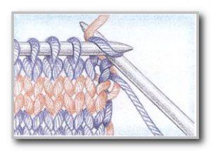 Фото смена цвета для горизонтальных полос вдоль кромки