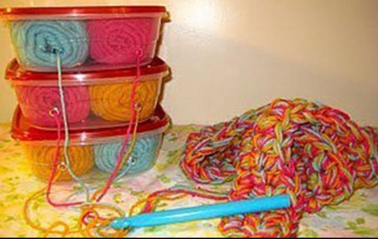 Фото разделение нитей для вязания интарсии