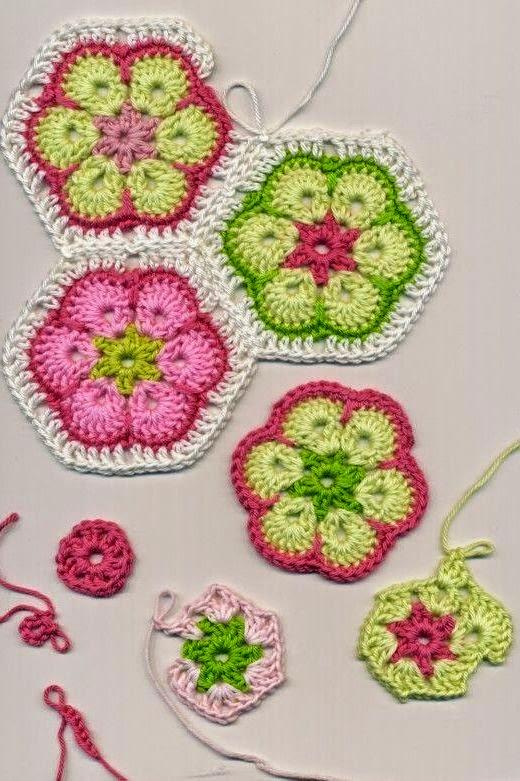 Фото вязание африканских цветов крючком схема