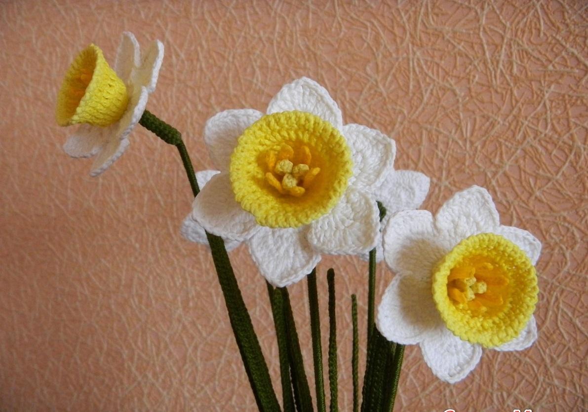 и схемы описание хризантема вязание крючком