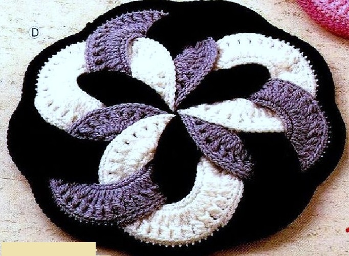 Фото японские коврики крючком