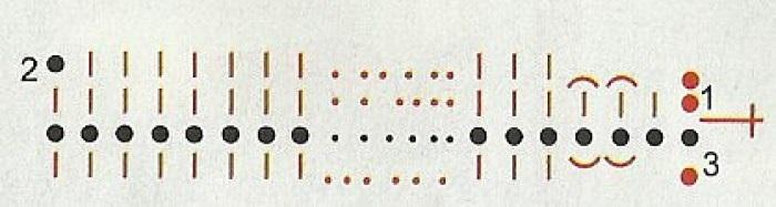 Фото вязанные ирисы крючком схема для вязания