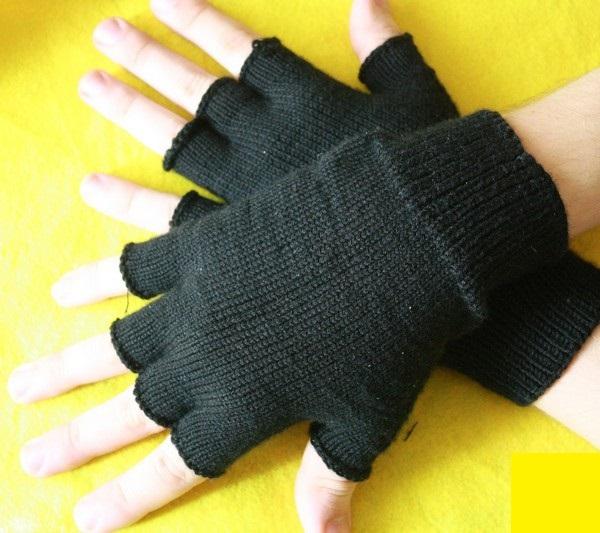 Фото митенки в форме перчаток