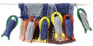 Фото катушки для нитей в вязании интарсии