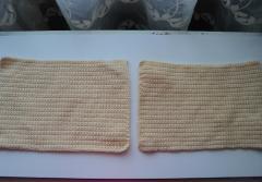 Фото описание вязанной груди подушки крючком