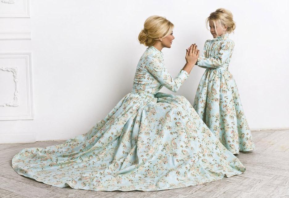 Белла Потемкина с дочкой