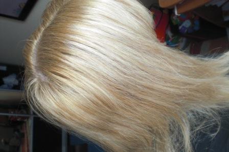 Фото сожженные волосы после мелирование