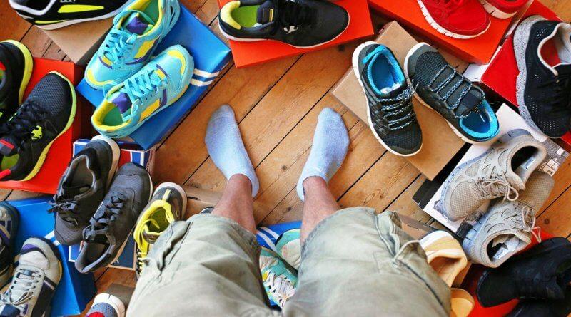 фото выбор кроссовок