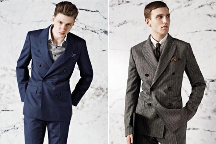 двубортные пиджаки для мужчин