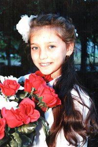 Регина Тодоренко в детстве