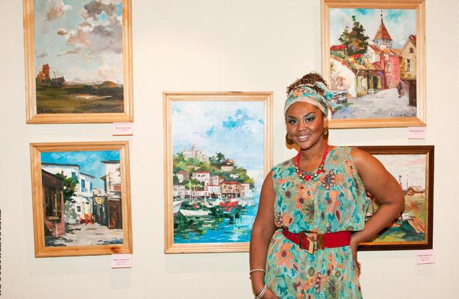 Корнелия Манго выставка картин
