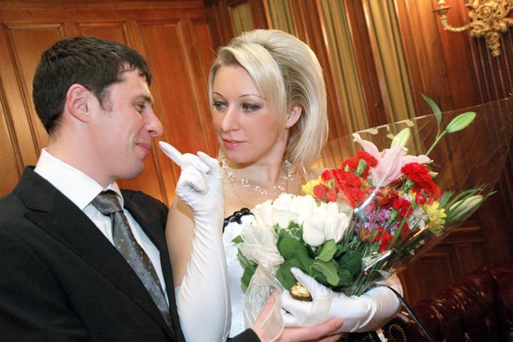 Мария Захарова свадьба