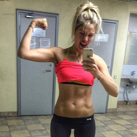 Наталья Рудова фитнес