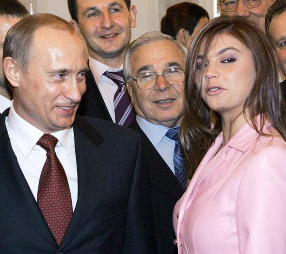 Путин и мировая чемпионка гимнастики