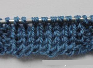 Фото вязание с первого по четвертый ряд узора косы
