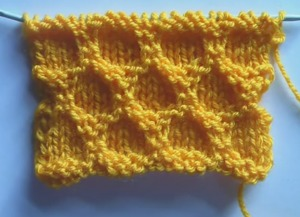 Фото вязание крупных сот спицами